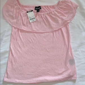 NWT Pretty Pink Joe Boxer Juniors Shirt Size S